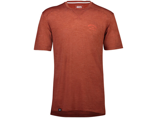 Mons Royale Vapour Lite T T-Shirt Herre clay